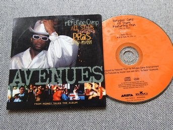 Refugee Camp All Stars Featuring Pras With Ky-Mani ?- Avenues CD Singel (papp)
