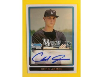 CHAD JAMES: 2009 Bowman Chrome Draft Prospects #BDPP92