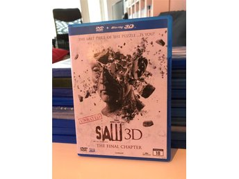 SAW 3D (3DBluray+DVD)