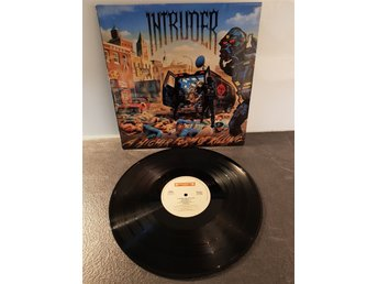 Intruder - A Higher Form of Killing LP 1989 - Thrash RARE