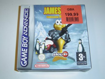 JAMES POND ROBOCOD NINTENDO GAMEBOY ADVANCE GBA *NYTT*