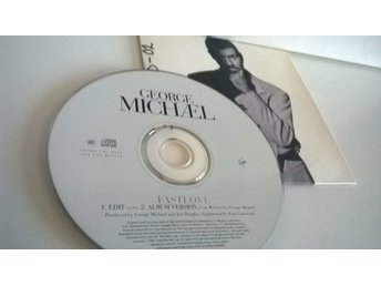 George Michael - Fastlove, single CD, promo