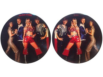 ABBA 'The Best Of Abba' picture-disc LP - Bröndby - ABBA 'The Best Of Abba' picture-disc LP - Bröndby
