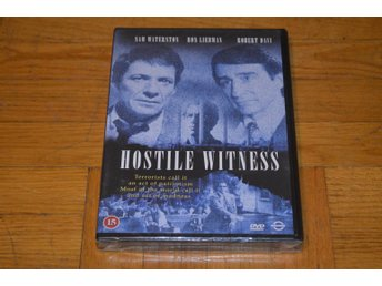 Hostile Witness - Terrorist on Trial ( Sam Waterston ) 1988 - DVD Inplastad