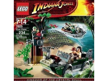 LEGO Indiana Jones 7625 Flodjakt