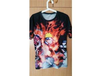 Tshirt/topp med 3D tryck, Naruto. Unisex, Onesize, strl M/38 - Sundsvall - Tshirt/topp med 3D tryck, Naruto. Unisex, Onesize, strl M/38 - Sundsvall