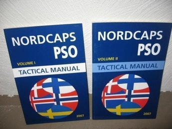 NORDCAP PSO TACTICAL MANUAL 2007 Vol I-II