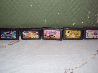 5 st Game Boy Advance-spel