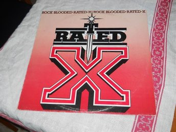 RATED-X--Rock blooded. LP - Mellerud - RATED-X--Rock blooded. LP - Mellerud