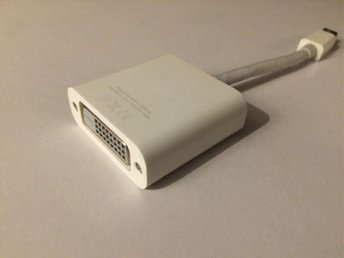 DVI DisplayPort/Thunderbolt adapter