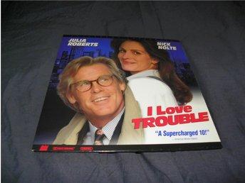 I love trouble - Letterbox laserdisc - 2st - Säffle - I love trouble - Letterbox laserdisc - 2st - Säffle