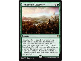 Tempt with Discovery - Commander 2016 - NM/M - English