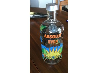 Absolut  Vodka. Flaska.