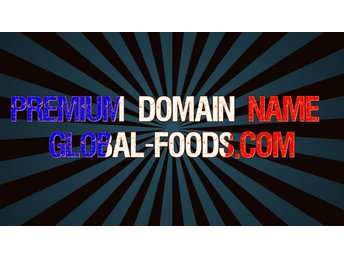 Premium Domain Name Global-foods.com