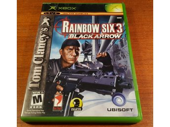 Rainbow Six 3 Black Arrow - Komplett - Xbox - Amerikanskt / NTSC