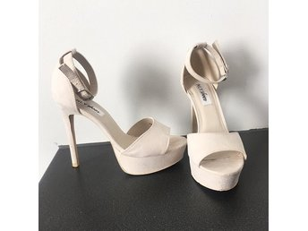Nelly shoes - beige high heels