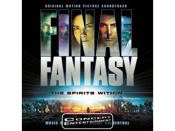 Final Fantasy The Spirits Within Original Motion Picture Soundtrack (Nytt) CD