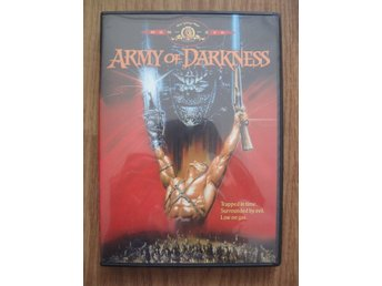 Army of Darkness director's cut (DVD, komedi/äventyr/skräck) - Region 3