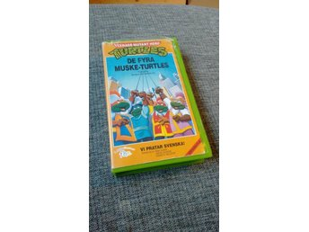 Turtles de fyra muske-turtles VHS