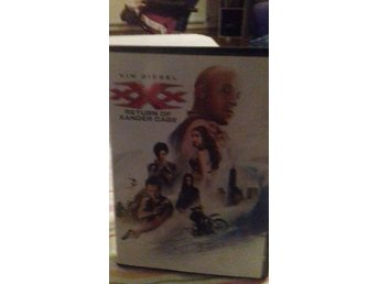 Dvd filmen Return of xander cage