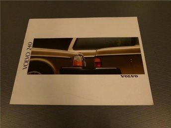 Volvo broschyr: Volvo 240 - 1989 - Norrtälje - Volvo broschyr: Volvo 240 - 1989 - Norrtälje