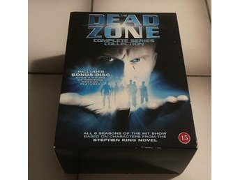 The Dead Zone - Complete serie collection (en skiva saknas)