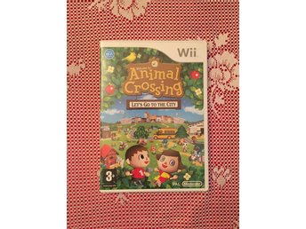 Wii Spel - Animal Crossing, Let's go to the city