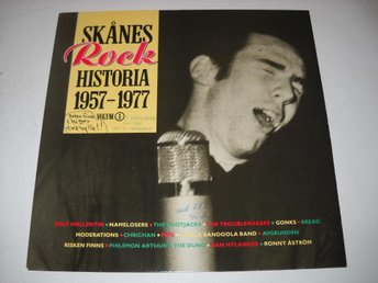 SKÅNES ROCK HISTORIA 1957-1977 - VOL.1 V/A LP