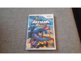 Batman - The Brave And The Bold - The Videogame - Wii -