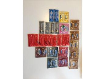 27 st Kondomer i olika sorter - Malmö - 27 st Kondomer i olika sorter - Malmö
