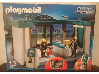 Playmobil City Action Bankkontor med Bankomat.