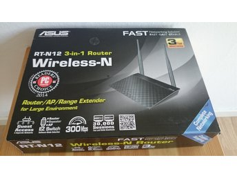 Asus RT-N12 3-IN-1 ROUTER WIRLESS-N