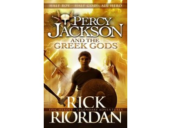 Percy Jackson And The Greek Gods (Bok)