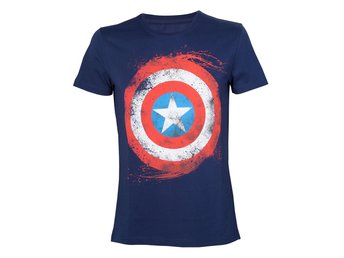 T-Shirt - Marvel - Captain America Shield - L