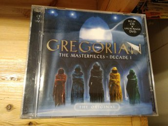 Gregorian - The Masterpieces DVD och CD, CD