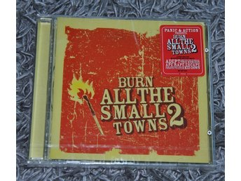 V/A - Burn All the Small Towns 2 - CD - Inplastad