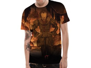 IT - FLAMES (SUBLIMATED UNISEX T-SHIRT) - Small
