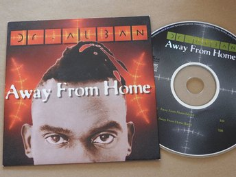 Dr Alban - Away from home CD Singel 1994 90-tal nostalgi dance club