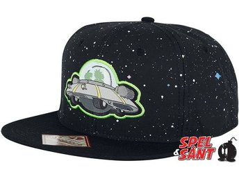 Rick & Morty Spaceship Snapback Keps Svart