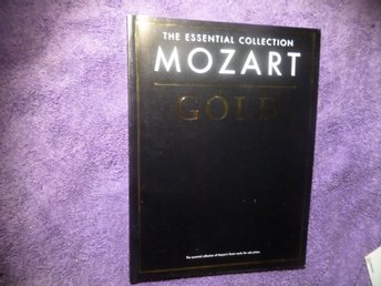 MOZART GOLD - Essential Collection - Notbok - 96 sidor