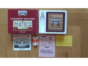 Game & Watch Multi Screen Mario Bros