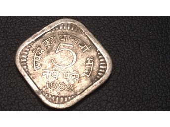 1962 India 5 Paise