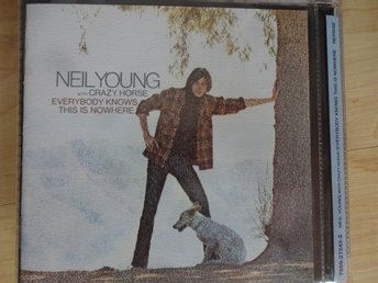 Neil Young - Everybody knows this is nowhere, CD i mycket fint skick