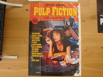 PULP FICTION 70x100 1994 Quentin Tarantino, John Travolta