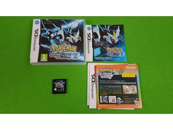 Pokemon Black Version 2 KOMPLETT Nintendo DS