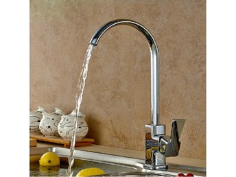 Square Chrome Brass Kitchen Bathroom Hot Cold Water Switc...
