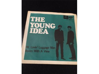The Young Idea - Mr. Lovin´Luggage Man, vinylsingel från 1967, svenskt omslag!