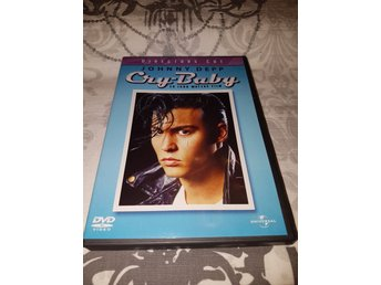 "Cry Baby ""Directors cut"" (1989) *OOP Utgången film* Johnny Depp, Traci Lords mfl"