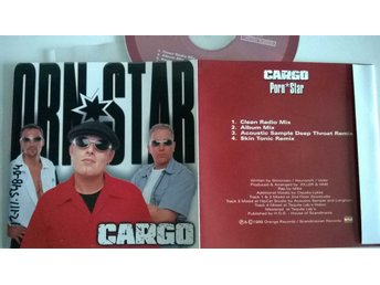 Cargo - Porn*Star, single CD, promo stämplad