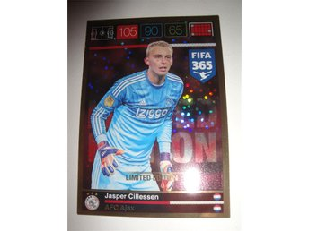 Panini Adrenalyn XL FIFA 365 - Limited Edition - JASPER CILLESSEN - AFC Ajax